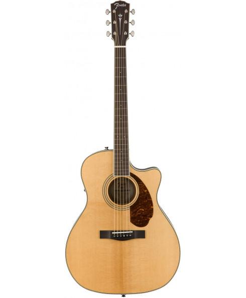 Fender PM-4CE Auditorium Natural Ed. Limitada com case