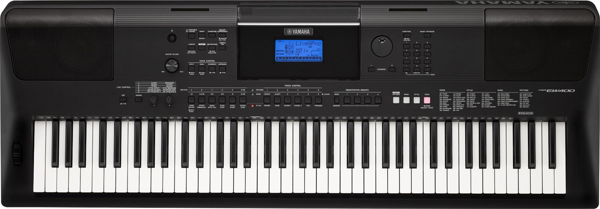 Yamaha psr ew400 teclado port til teclados teclado for Yamaha ew 400