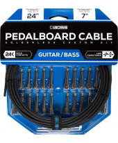 Boss BCK-24 Solderless Pedalboard Cable Kit