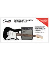 Fender SQ Strat Pack SSS BK