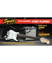 Fender Pack Affinity Series Strat Blk com Frontman 10G