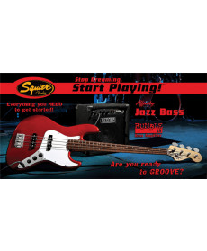 Fender Squier Pack Affinity Jazz Bass Rumble 15 MTR