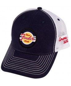 Fender Hat G&A Trucker Navy/White