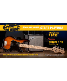 Fender Squier Affinity Precision Bass Brown Sunburst
