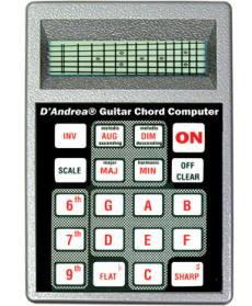 Dandrea BG1 Guitar Chord Computer