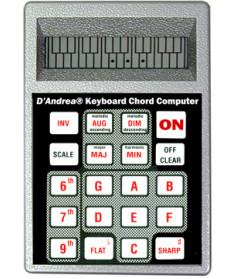 Dandrea CC1 Keyboard Chord Computer