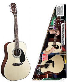 Fender CD-60 Acoustic Pack NT