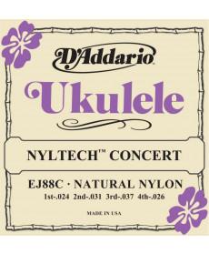 Daddario EJ88C Concert Nyltech Ukulele