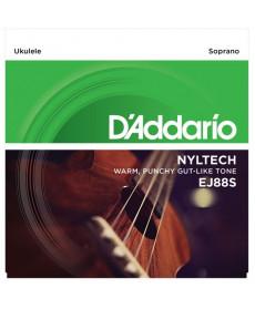 Daddario EJ88S Soprano Nyltech Ukulele