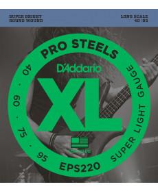 Daddario EPS220 Super Light Long Scale
