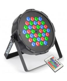 BeamZ FlatPAR 36x1W RGB LEDs