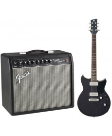 Yamaha RS502 Shop Black com Fender Super Champ X2