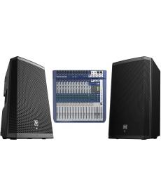 Soundcraft Signature 16 + 2x EV ZLX12P