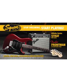 Fender Pack Affinity Strat HSS CAR com Frontman 15G