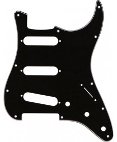 Fender Contemporary Strat SSS Pickguard Black