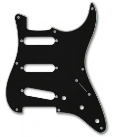 Fender 50s Era Strat SSS Pickguard '57 Black