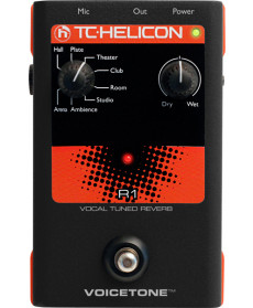 TC Helicon R1 Vocal Tuned Reverb