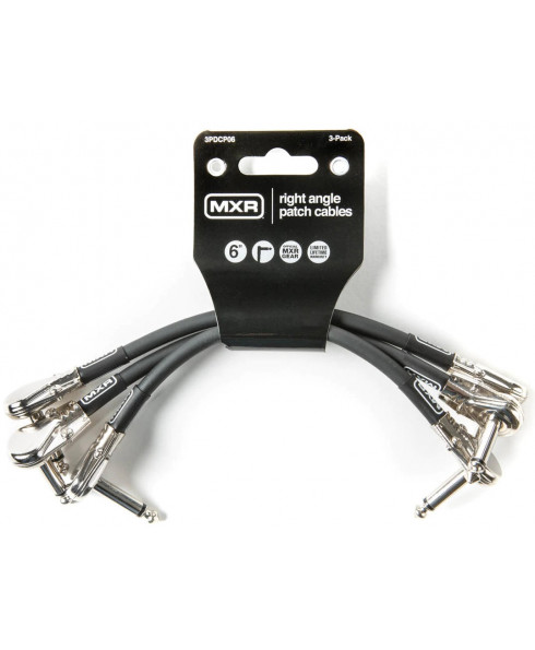 MXR 3PDCP06 Patch Cable 3-Pack