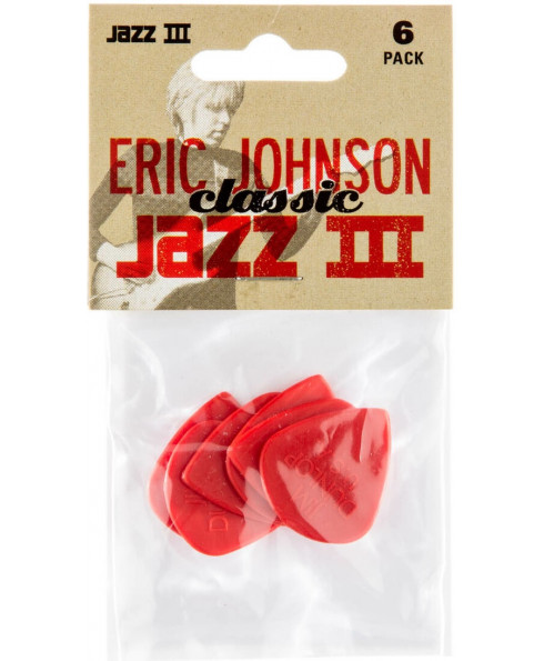 Dunlop Guitar Pick Eric Johnson Jazz III