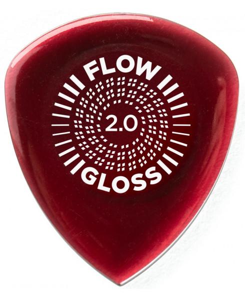 Dunlop Guitar Pick Flow Gloss 2.0