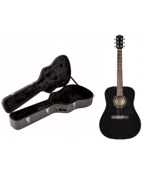 Fender CD-60 V3 BK C/ Estojo