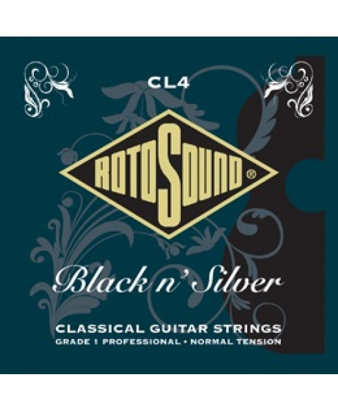 Rotosound CL4 Black n Silver Classical