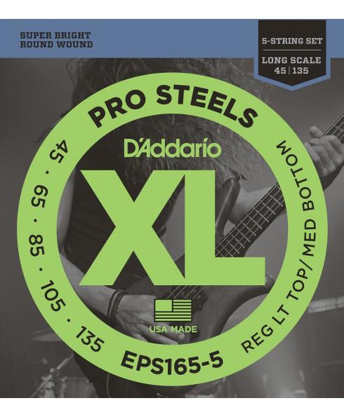 Daddario EPS165-5 Custom Light Long Scale