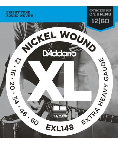 Daddario EXL148 Nickel Wound Extra-Heavy
