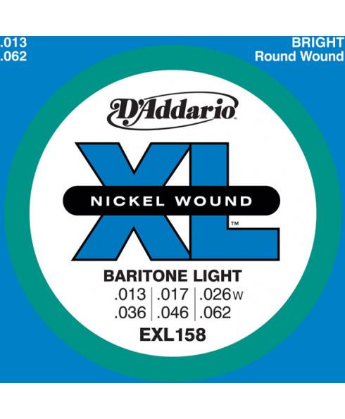 Daddario EXL158 Baritone Light
