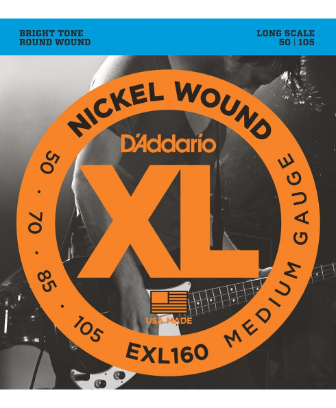 Daddario EXL160 Medium Long Scale
