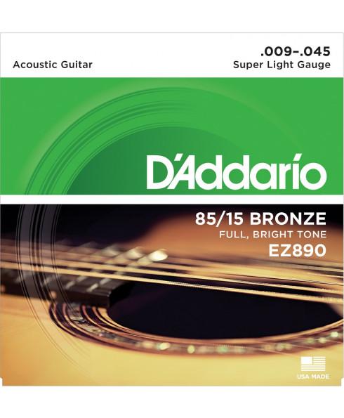 Daddario EZ890 Super Light