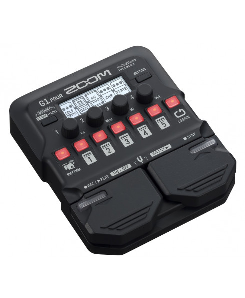 Zoom G1 Four Multi-Effects Pedal