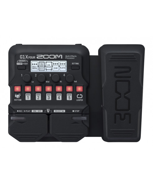 Zoom G1X Four Multi Effects Pedal