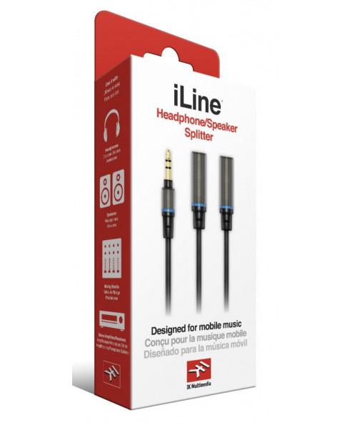 iLine Headphone/Speaker Splitter