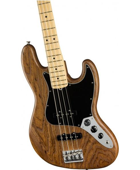 Fender Limited Edition Am Pro Jazz Bass RST ASH MN Nat