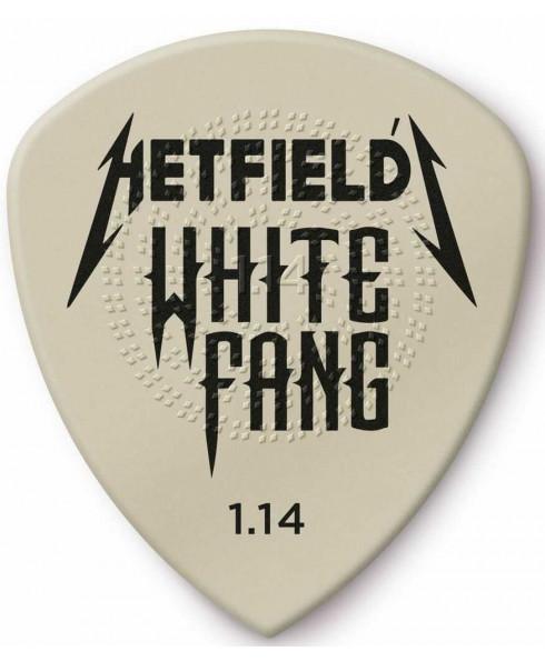 Dunlop Guitar Pick Hetfield´s White Fang Custom Flow 1,14 mm
