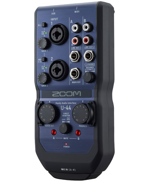 Zoom U44 Handy Audio Interface