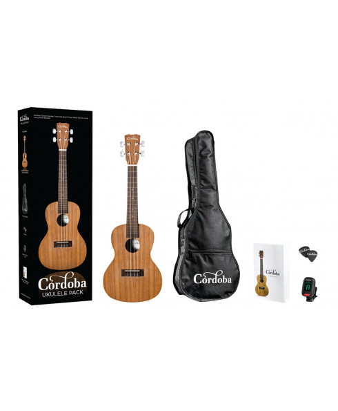 Córdoba UP100 Ukulele Concert Pack