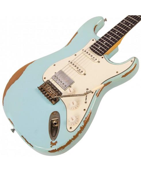 Vintage Icon V6HMRLB Ultra-Gloss Distressed Laguna Blue