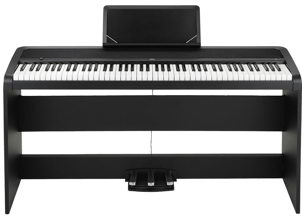 korg b1sp bk piano digital teclado musifex. Black Bedroom Furniture Sets. Home Design Ideas