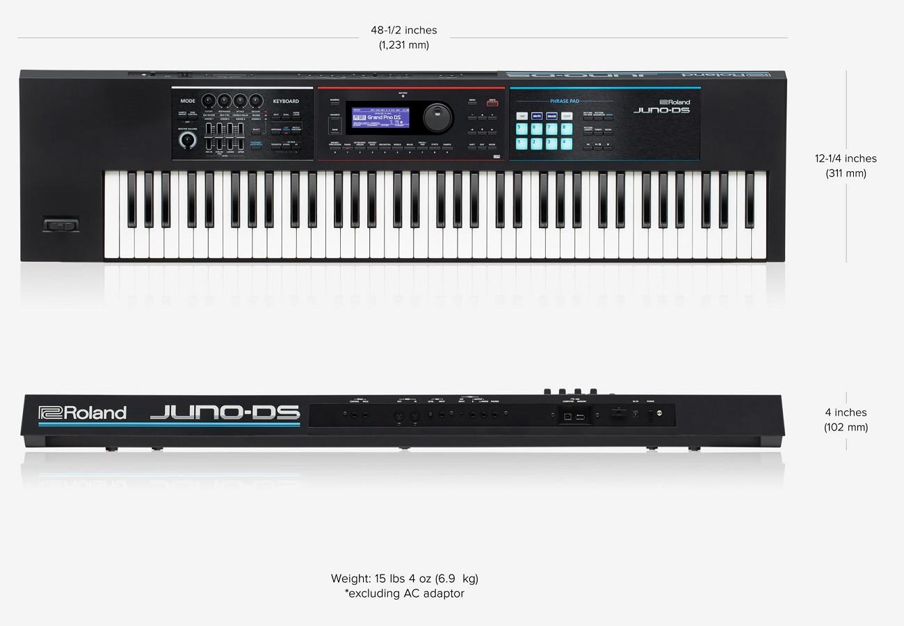 Roland Juno-DS 76 - Sintetizador - Teclados - Teclado - Musifex