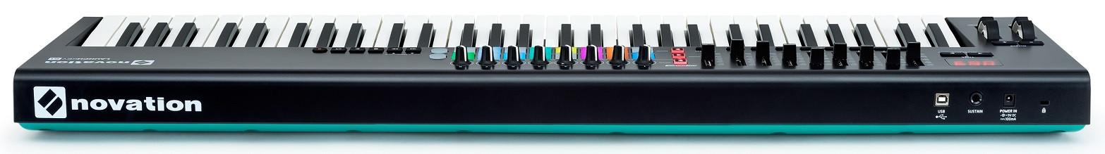 novation launchkey 61 mk2 controlador midi teclados teclado musifex. Black Bedroom Furniture Sets. Home Design Ideas