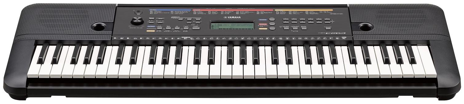 yamaha psr e263 teclado port til teclados teclado. Black Bedroom Furniture Sets. Home Design Ideas