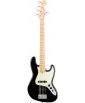 Fender American Pro Jazz Bass V MN BLK