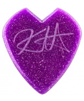 Dunlop Guitar Pick Kirk Hammett Jazz III Purple Sparkle