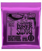 Ernie Ball EB2620 Power Slinky 7-string Nickel Plated