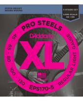 Daddario EPS170-5 Light Long Scale