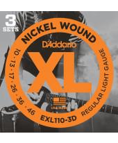 Daddario EXL110-3D Regular Light