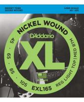 Daddario EXL165 Custom Light Long Scale