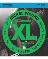 Daddario EXL220 Super Light Long Scale